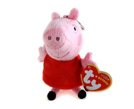 Image Unavailable. Image not available for. Color  TY Beanie Baby - PEPPA  the Pig ( Metal Key Clip - UK ... 004a276155c9