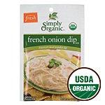 Simply Organic French Onion Dip, ORGANIC, Gluten-Free