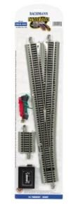 Bachmann Trains Snap-Fit E-Z Track #6 Turnout - Right