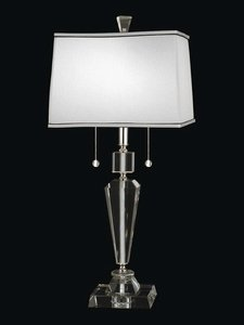 (Dale Tiffany GT12079 Danbrook Crystal Table Lamp, 10.5