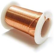 """Bare, Soft Copper Wire, Bright, 20 AWG, 0.032"""" Diameter - 10 LBS SPOOL"""