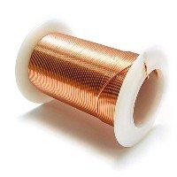 """Bare, Soft Copper Wire, Bright, 22 AWG, 0.025"""" Diameter - 10 LBS SPOOL"""