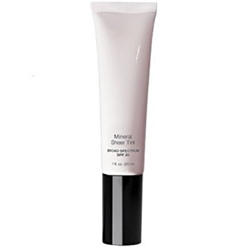 Mineral Sheer Tint SPF 20 Tinted Moisturizer - Lightweight mineral-enriched tinted cream with broad spectrum sun protection - Sheer finish (Cameo Glow)
