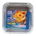 E-z Foil 93821 Square Cake Pan With Aluminum Foil (Pack of 12 X 3)