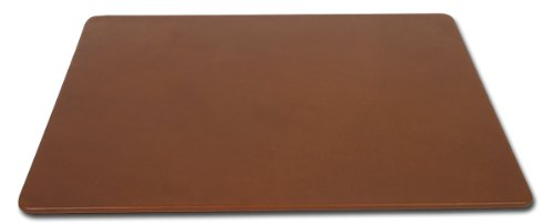 Dacasso Rustic Brown Leather Conference Table Pad, 17 by 14-Inch by Dacasso