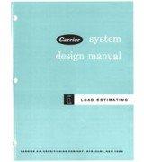Manual Carrier - Carrier System Design Manual Part 1: Load Estimating