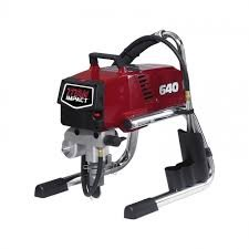 Titan Impact 640 Skid Airless Paint Sprayer High Quality 640 Impact 805-002