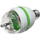Colorful Rotating Rgb 3 Led Spot Light Bulb Lamp in US - 5