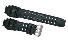 Casio GW-4000 - Correa de reloj, resina, color negro