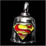 SUPERMAN Gremlin Bell guardian of good luck ward off evil spirits