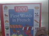 1000 first words in french - 4