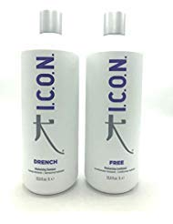 (ICON Drench Shampoo 33.8oz + Free Conditioner 33.8oz (Combo Set) by)