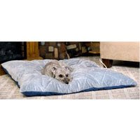"K & H Manufacturing Thermo Bed with Cotton Cover, 26 x 29 "","