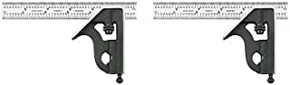product image for Starrett 11H-6-4R 6-Inch Combination Square with Cast Iron Head and Black Wrinkle Finish (2)