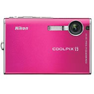 Nikon Coolpix S9 6MP Digital Camera with 3x Optical Zoom (Magenta) For Sale