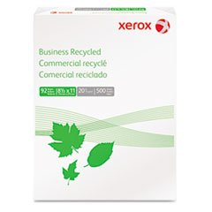 - Business Recycled Copy Paper, 92 Bright, 20lb, 8-1/2 x ...