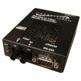 RS232 Sa Media Converter DB-9 Male To 1300NM MMf Sc 2KM