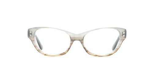 Derek Lam Women's 237 Blue Gradient Frame Glasses - 52mm width - Frames Librarian Glasses