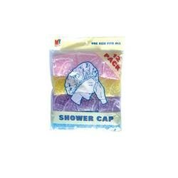DDI - Shower Cap - 10 Pack (Cases of 72 items)