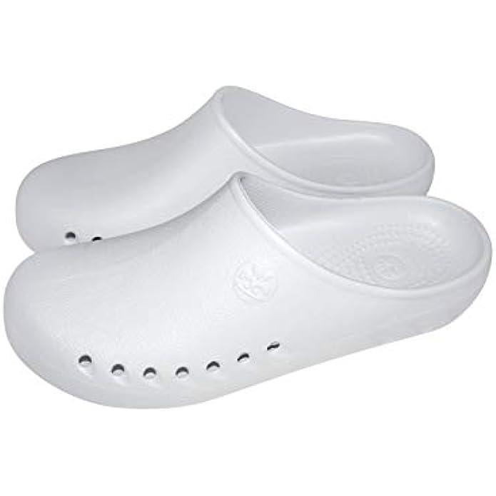Natural Uniforms Men's Comfort Slip Resistant Non Marking Sole Nursing Clog 9100M