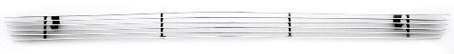 (TRex Grilles 25465 Horizontal Aluminum Polished Finish Billet Bumper Grille Bolt-on for Dodge Ram Pickup)