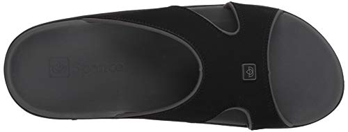 Spenco Men's Kholo Plus Slide Sandal, Carbon/Pewter, 14 Medium US by Spenco (Image #8)
