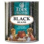 Eden Foods Black Beans Canned (6x108 Oz)