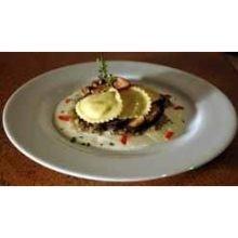 Carlas Precooked Jumbo Round Wild Mushroom Ravioli Pasta, 2.5 Pound -- 3 per ()
