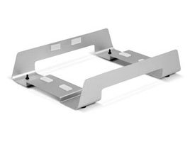 OWC Horizontal Executive Desk Stand For Mercury Elite Pro Single bay Stand w/rubber grip rail For new OWC Mercury Elite enclosures with single-pin power plug Model OWCMEP1STAND