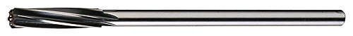 Cleveland C30735 Chucking Reamer, Spiral Flute, Straight Shank, Uncoated (Bright) Finish, 23/32'' Size (Pack of 1) by Cleveland