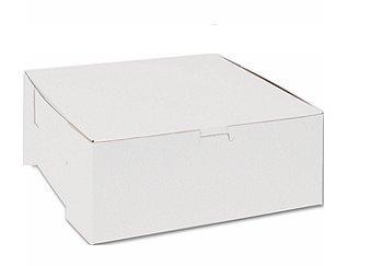 Cakesupplyshoppackaged 6pack 10x10x5 White Cake Box