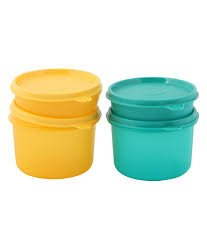 Tupperware Executive Bowls Set of 4 Lunch Boxes