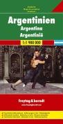 Freytag Berndt Autokarten Argentinien 1 1.900.000