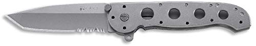 Handle M16 Titanium - CRKT M16-14T Titanium Folding Pocket Knife, Serrated Edge