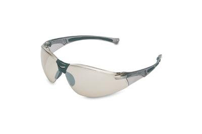 North A804 by Honeywell A800 Wilson Safety Glasses With Gray Polycarbonate Frame And Silver Mirror Indoor/Outdoor Polycarbonate Anti-Scratch Hard Coat Lens (1/EA) by Honeywell