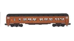 Bachmann 43351 CP 72ft. Heavy Weight Passenger Car Model Train Set