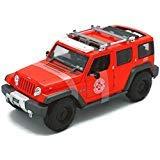 (Maisto 1:18 Jeep Rescue Concept Fire Dept Tactical Diecast Vehicle)