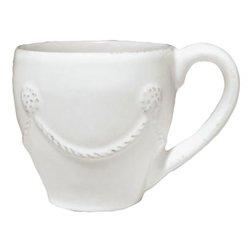 Berry and Thread Demitasse Cup by Juliska - Whitewash