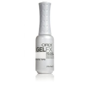 Orly Gel Fx Nail Color, White Tips, 0.3 - Color Tip White