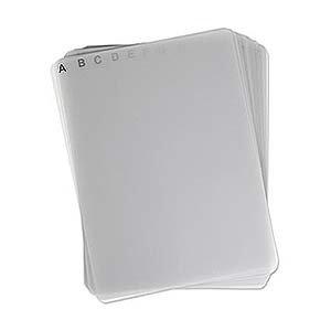 (DiscSox 24 DVD Pro Dividers Blank/Alphabetical - 24DIVDP)
