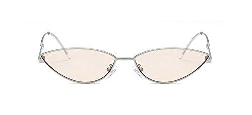 lunettes en Léger vintage de rond métallique soleil du Thé cercle retro inspirées style Lennon polarisées 66rxzwq