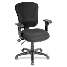 CHAIR, MIDBACK, TASK, FAB, GY