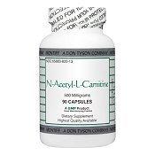 Montiff - N-Acetyl-L-Carnitine 500 mg 90 ()