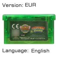 Video Game Cartridge 32 Bit Game Console Card Sonicc Series Columns Crown