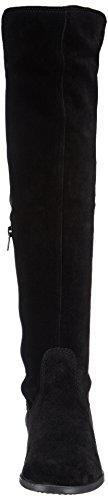 knee Tamaris 001 Women's Black black Classic 25568 Schwarz Cold Lined Boots Over YZrYHqx