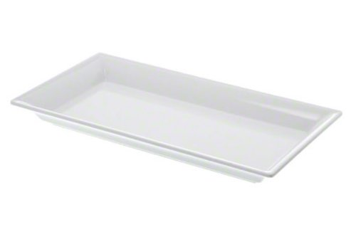 American Metalcraft MEL19 The Endurance Melamine Collection Rectangular Platter, 14-1/4-Inch, White INC.