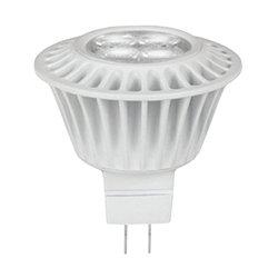 7 Watt - LED - MR16 - 35 Watt Equal - 800 Candlepower - 3000 Kelvin - 82 Color Rendering - 40 Deg. Flood - TCP LED7MR1630KFL