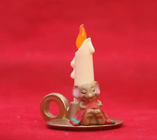 Candle Mouse Hallmark Merry Miniature XHA3405
