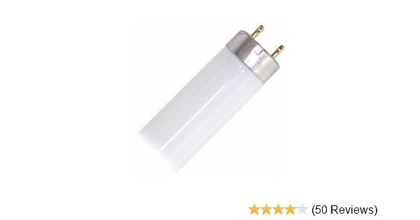 F17T8//741 17 watt 24 Straight T8 Medium Bi-Pin G13 Pack of 10 Base 4,100K Cool White Octron Fluorescent Tube Light Bulb