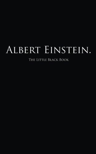 Albert Einstein.: The Little Black Book (Little Black Books)